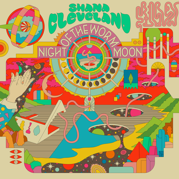 Shana Cleveland - Night Of The Worm Moon [LP] (Yellow vinyl)