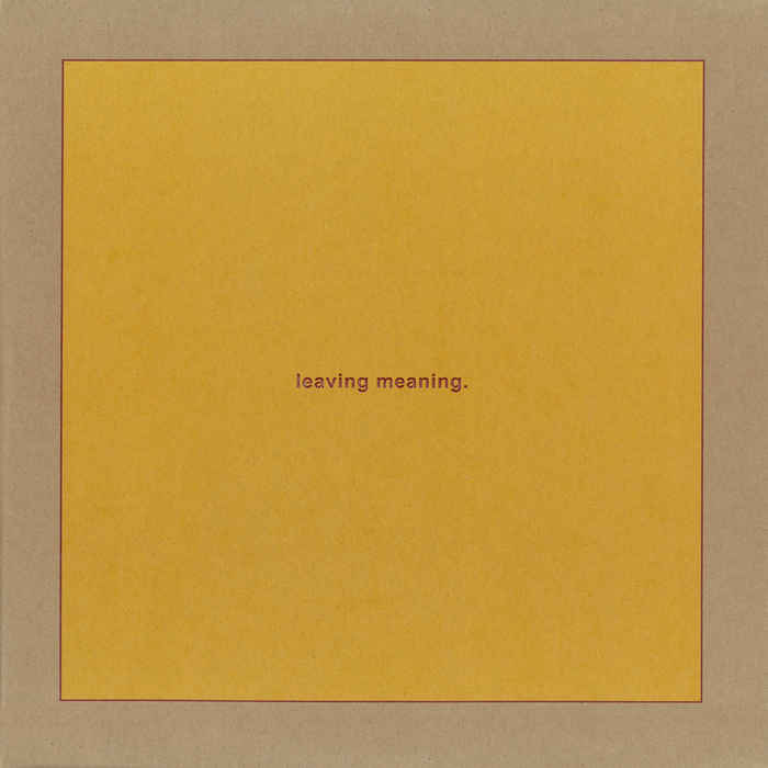 Swans - Leaving Meaning [2xLP]
