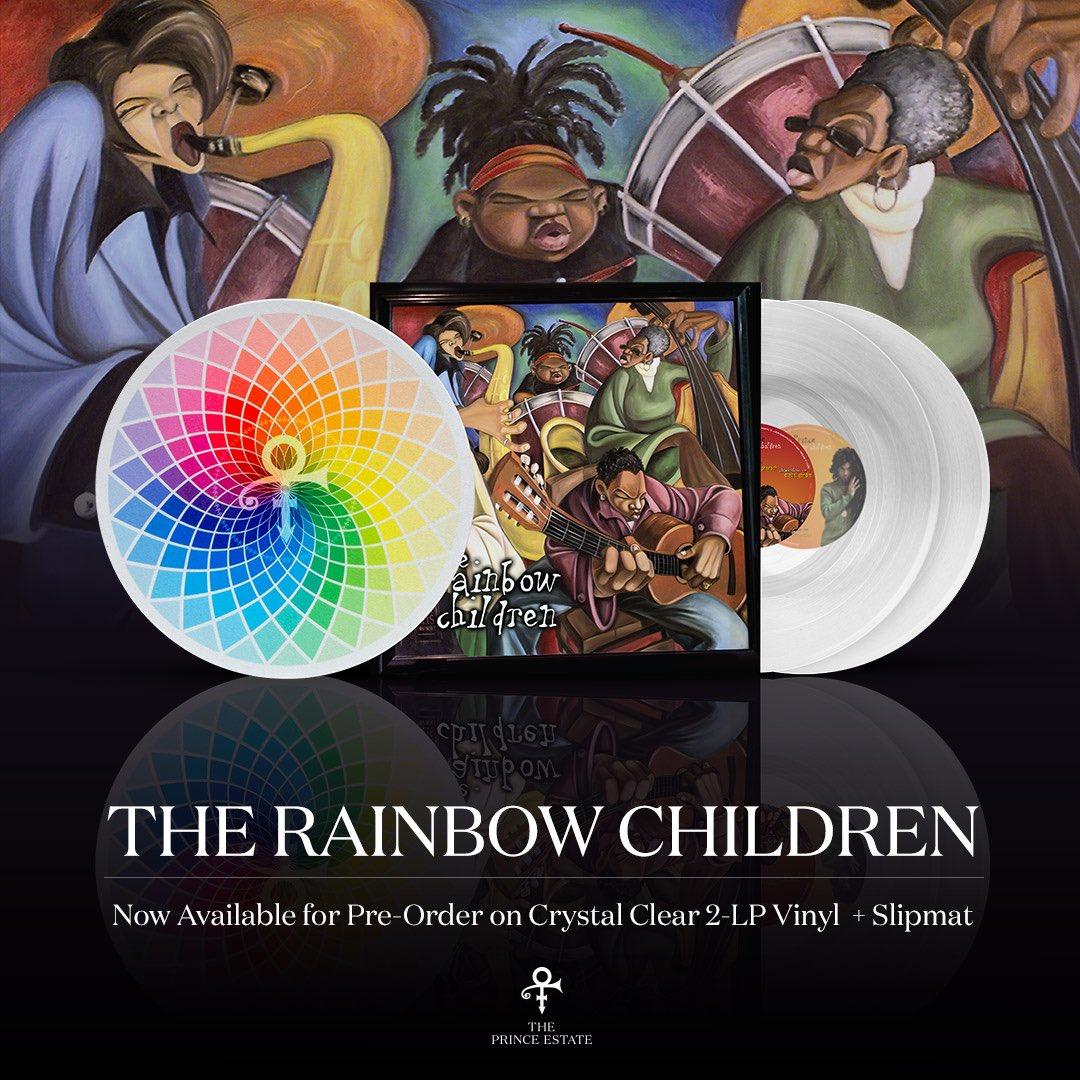 Prince - The Rainbow Children [2xLP] (Clear vinyl + Slipmat)