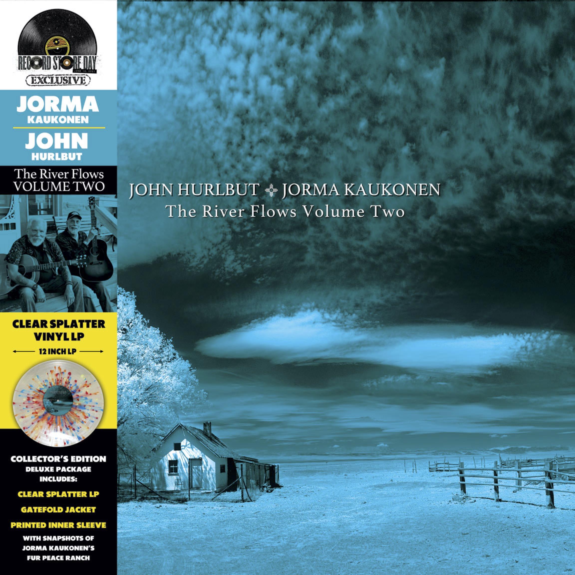 John Hurlbut & Jorma Kaukonen - River Flows Volume Two [LTD LP]