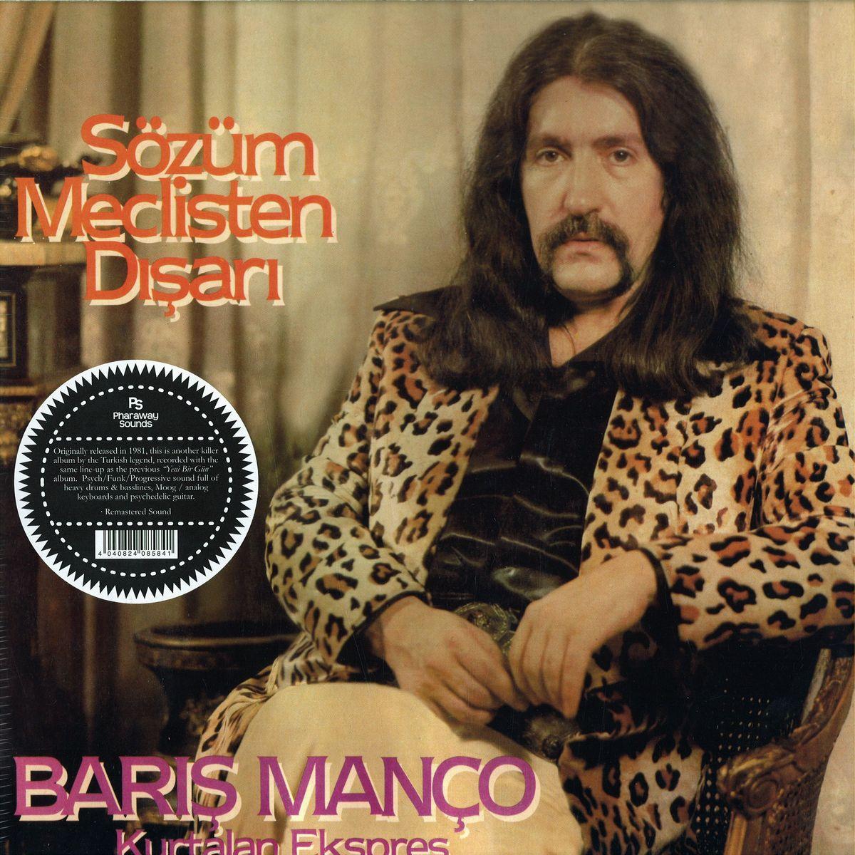 Baris Manco & Kurtalan Ekspres - Sözüm Meclisten Disari [LP]