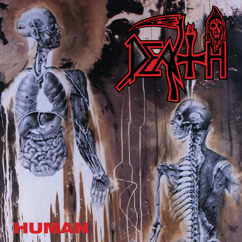 Death - Human [LP] (splatter Vinyl)