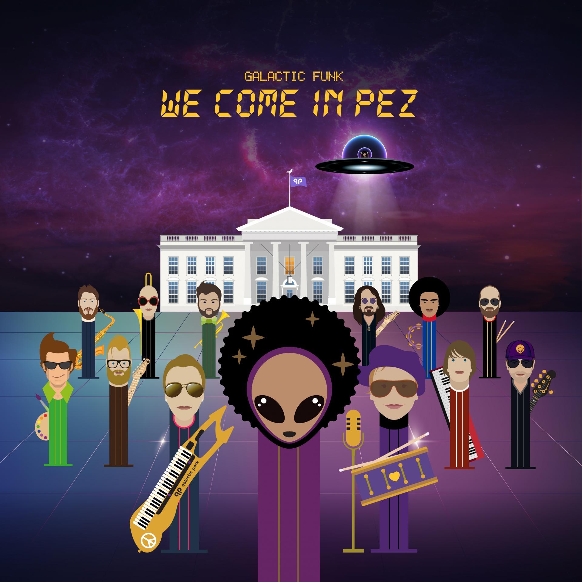 Galactic Funk - We Come in Pez [LP]