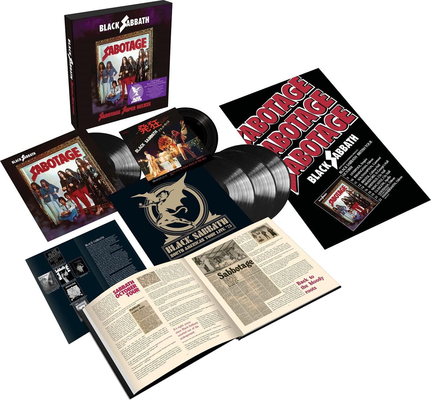 "Black Sabbath - Sabotage [BOX SET] (4xLP+7""+Poster+Book)"