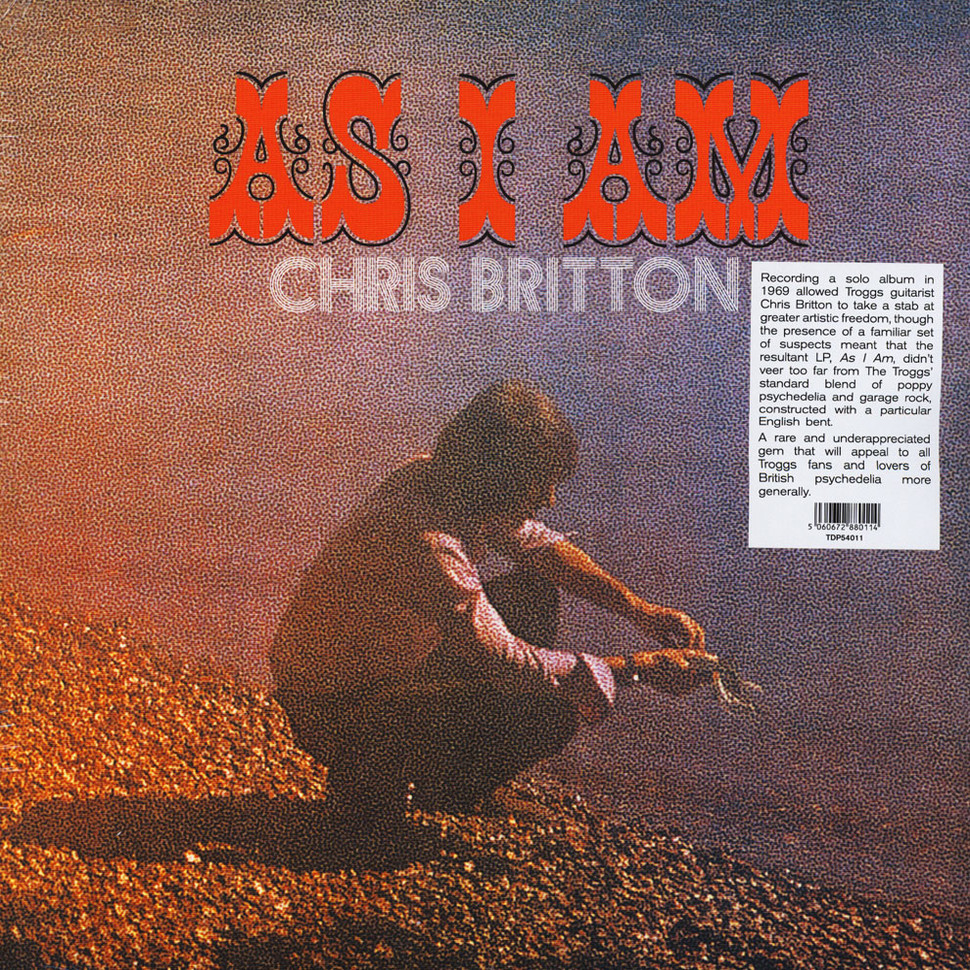 Chris Britton - As I Am [LP]