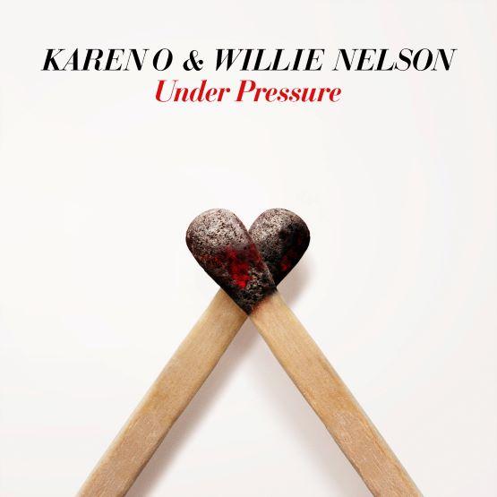 """Karen O & Willie Nelson - Under Pressure [LTD 7""""] (RSD21)"""