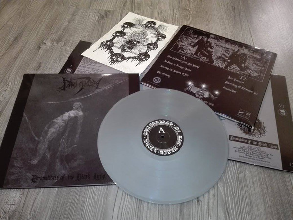 Deus Mortem - Emanations Of The Black Light [LTD LP] (Silver vinyl)