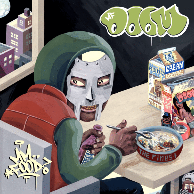 MF DOOM - MM...Food [2xLP] (Green & pink vinyl)
