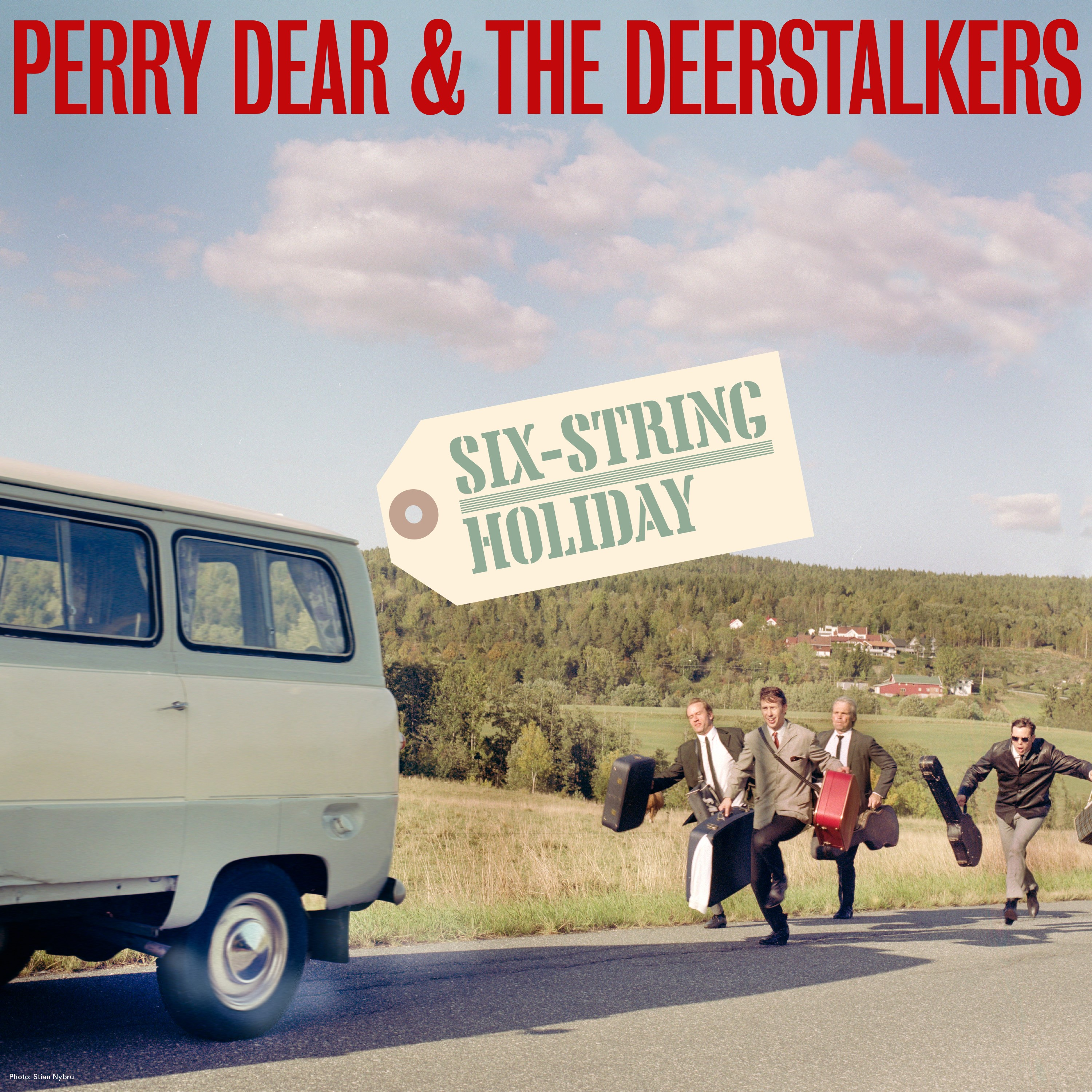 Perry Dear & The Deerstalkers - Six String Holiday [LP]