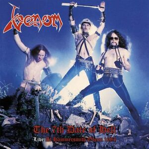 Venom - The 7th Date Of Hell - Live At Hammersmith 1984 [LP] (red Vinyl)