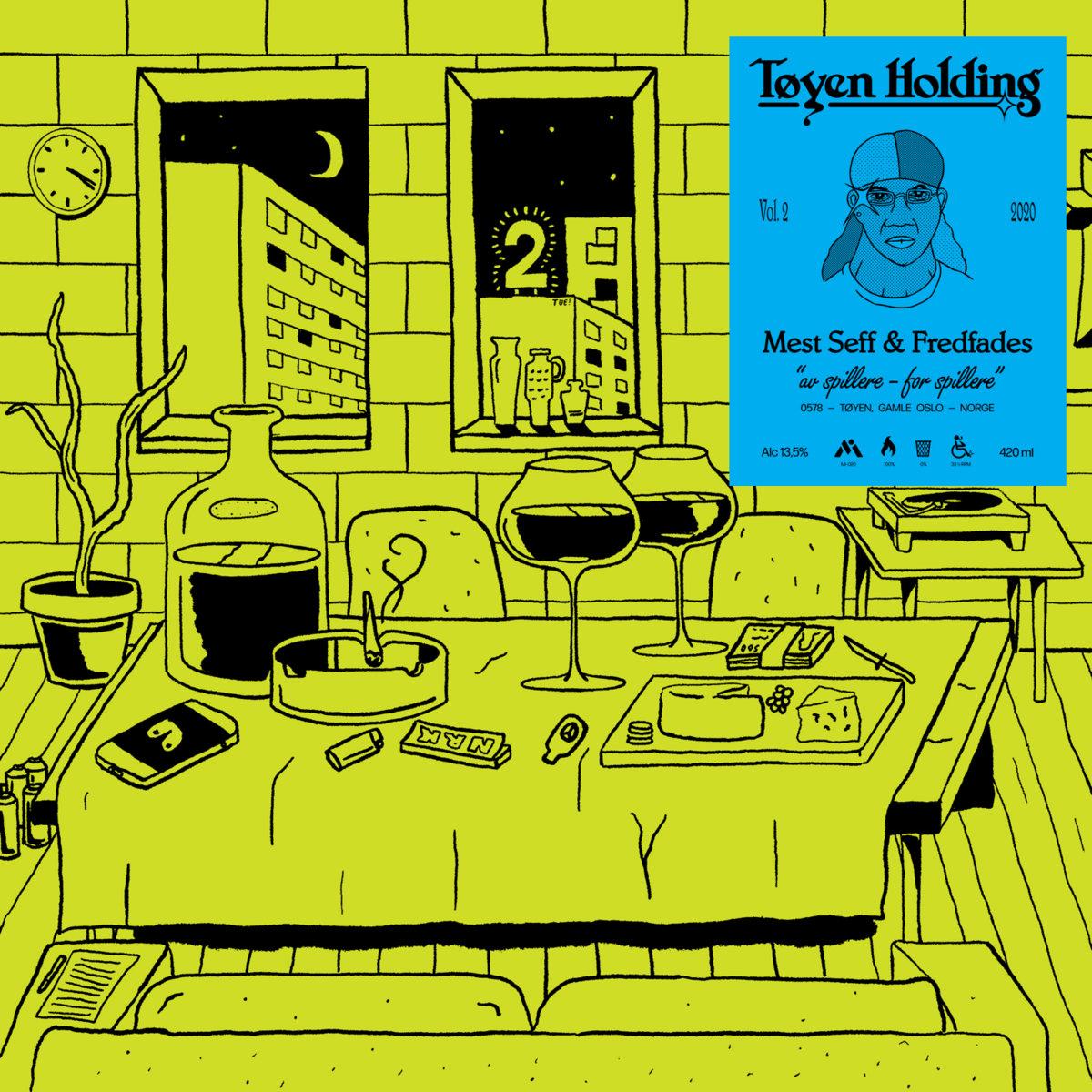 Tøyen Holding – Tøyen Holding 2 [LP]