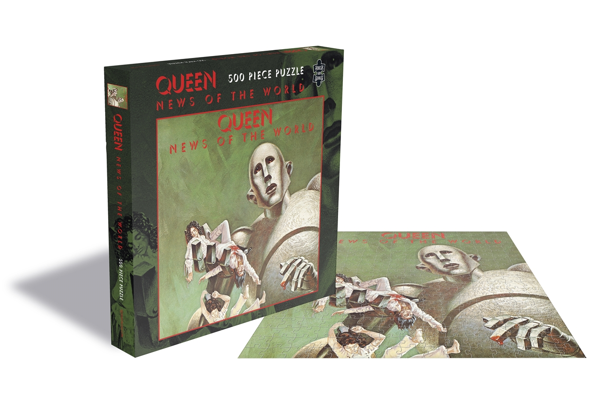 Queen - News of The World [Puslespill] (500 brikker)