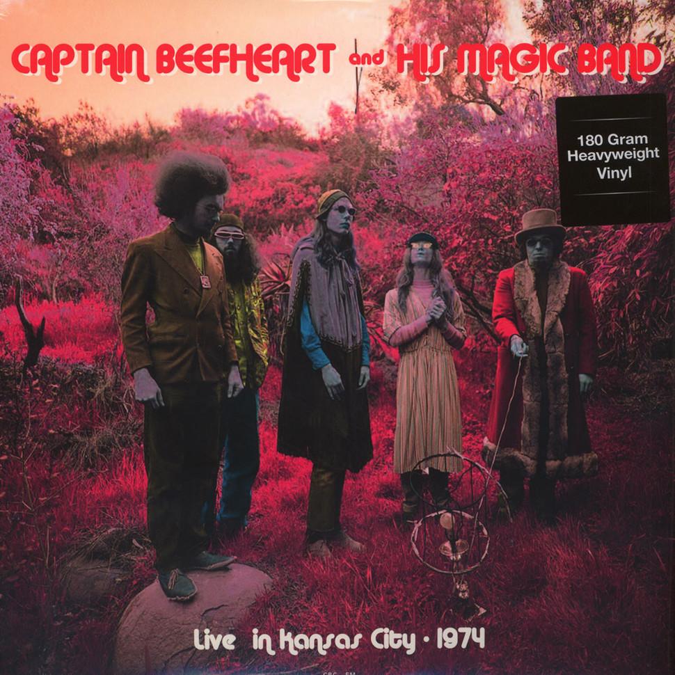Captain Beefheart & His Magic Band -  Live At The Cawtown Ballroom, Kansas City 1974 [LP]