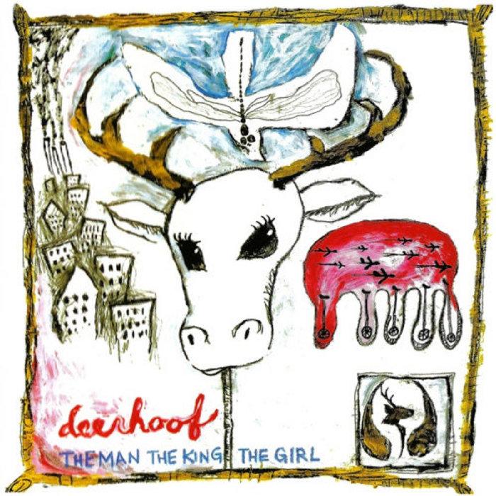 Deerhoof - The Man, The King, The Girl [LP] (Clear w/ Blue & Gold Splatter)