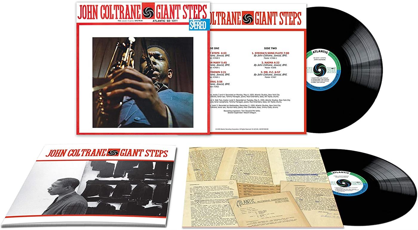 John Coltrane - Giant Steps [2xLP] (Deluxe 60 years ani. edition)