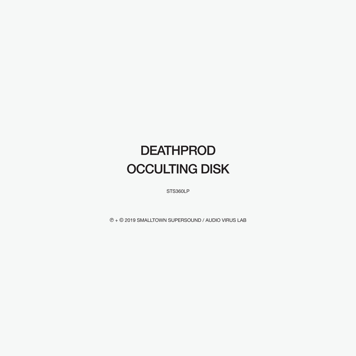 Deathprod - Occulting Disk [2xLP]