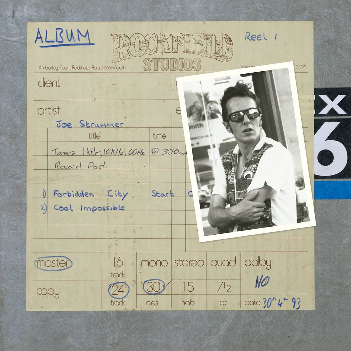 "Joe Strummer - Forbidden City/Cool Impossible [12""] (RSD19)"
