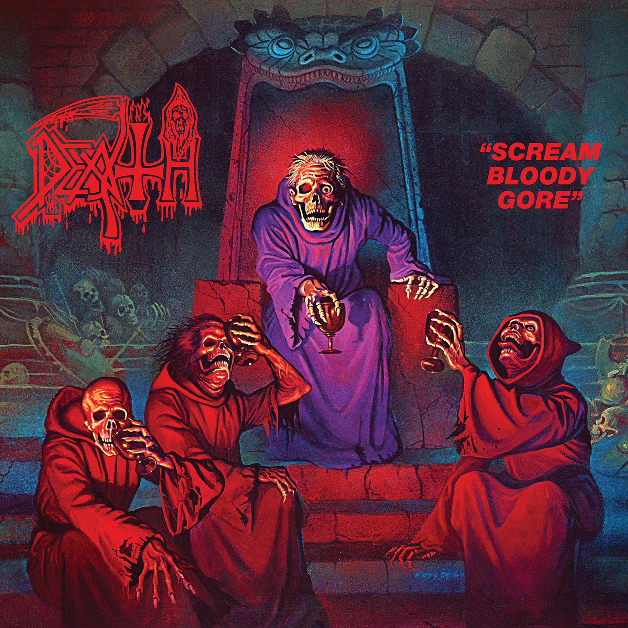 Death - Scream Bloody Gore [LP] (splatter Vinyl)