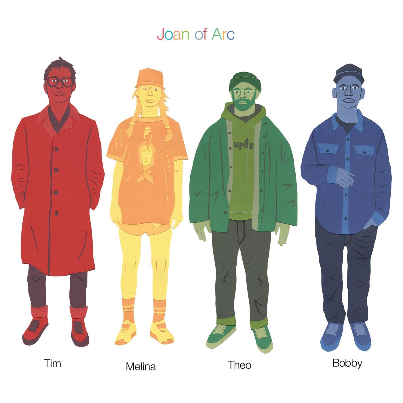 Joan of Arc - Tim Melina Theo Bobby [LP] (Sky blue vinyl)