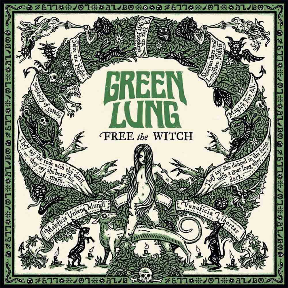Green Lung - Free The Witch [LP] (Green vinyl)