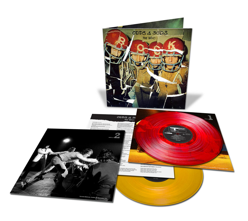 The Who - Odds & Sods [2xLP] (Red/Yellow Vinyl) (RSD20)