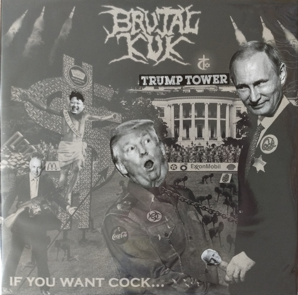 Brutal Kuk - If You Want Cock [LP]
