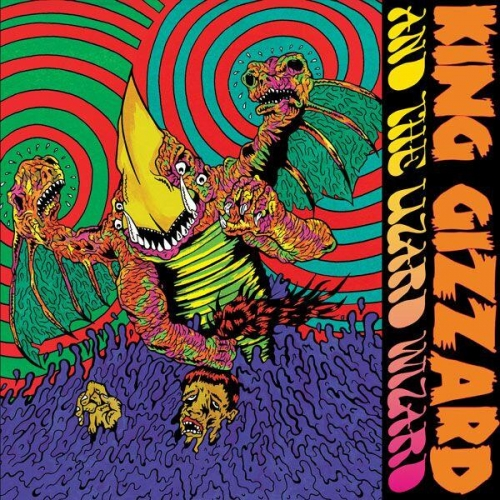 """King Gizzard And The Lizard Wizard - Willoughby's Beach (Red Vinyl) [12"""" EP]"""