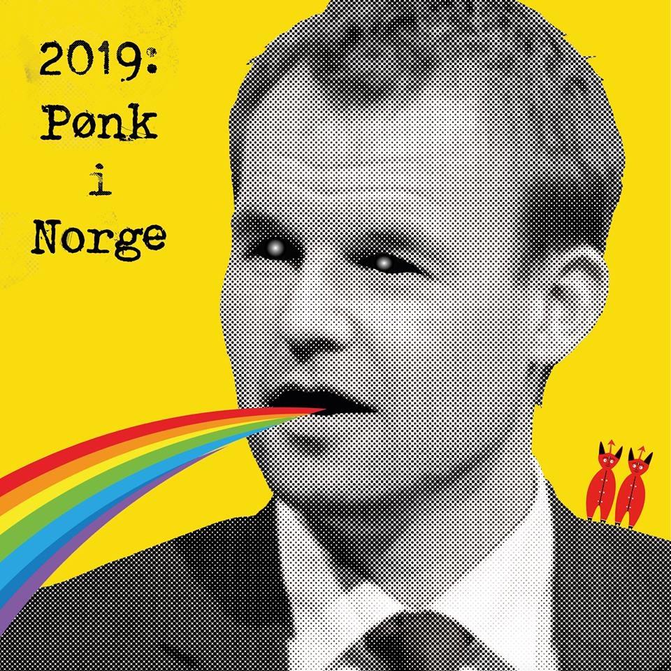 Diverse Artister - 2019: Pønk i Norge [LP]