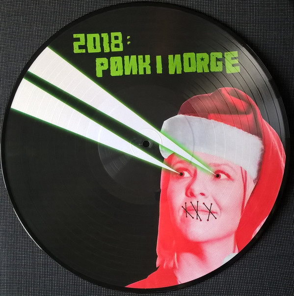 Various – 2018: Pønk I Norge [LP] (Pic. Disc)