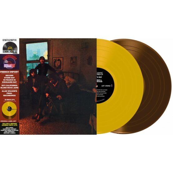 Canned Heat & John Lee Hooker – Hooker 'n' Heat [LTD 2xLP] (Yellow/Brown Vinyl) (RSD20)