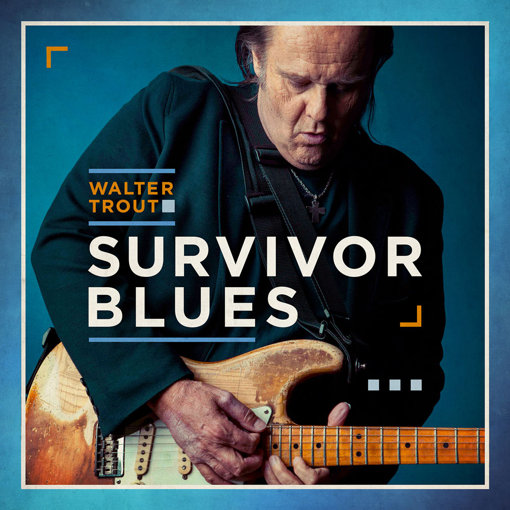 Walter Trout - Survivor Blues [2xLP] (Orange Vinyl)