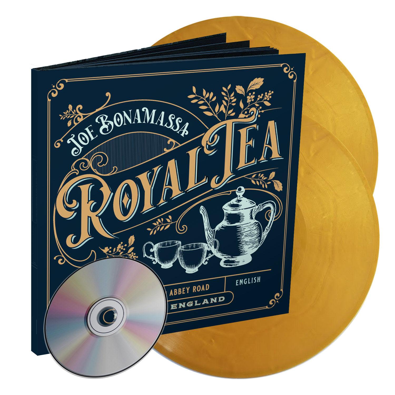 Joe Bonamassa - Royal Tea [LTD 2xLP + CD + Artbook] (Gold vinyl)