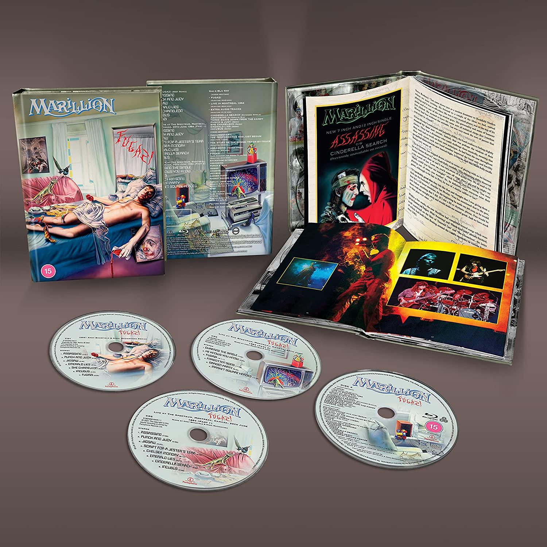 Marillion - Fugazi [LTD 3CD-1 BlueRay BOX]
