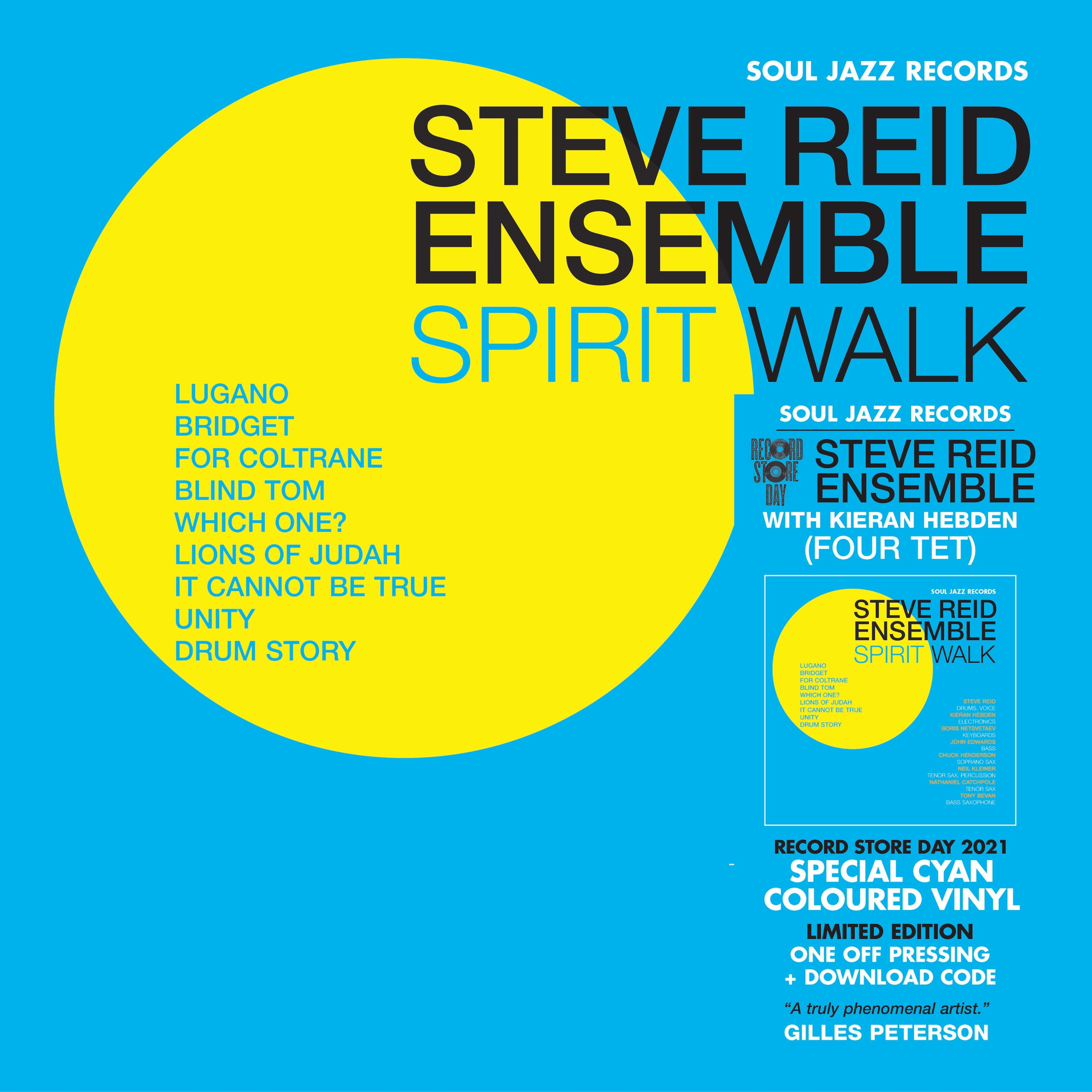 Steve Reid Ensemble With Kieran Hebden (Four Tet) - Spirit Walk [LTD 2xLP] (RSD21)