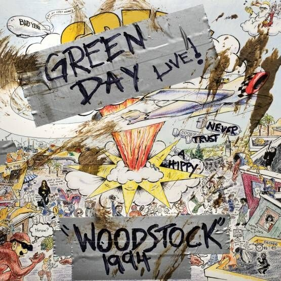 Green Day - Woodstock 1994 [LP] (RSD19)