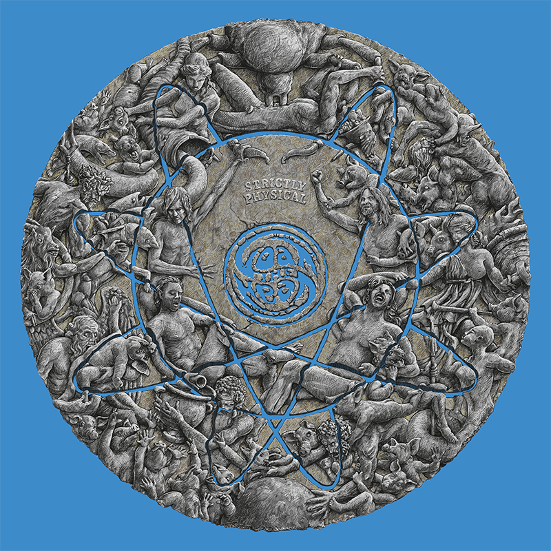 Goat The Head - Strictly Physical [Ultra LTD LP] (Silver/black vinyl)