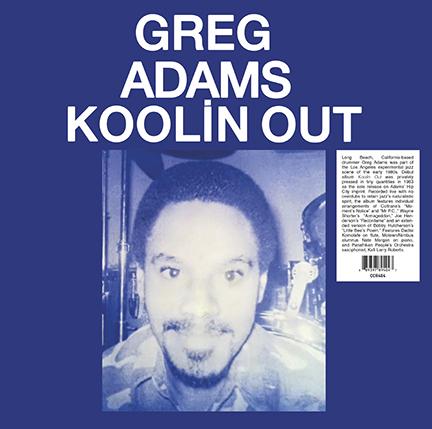 Greg Adams - Koolin Out [LP]