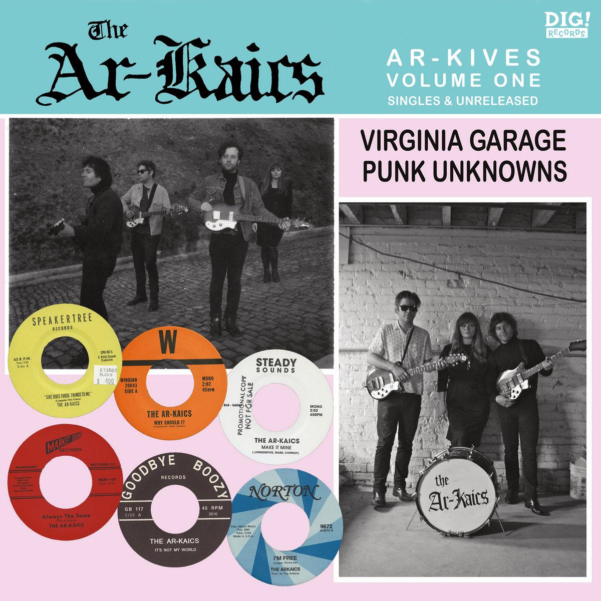 Ar-Kaics - Ar-Kives, Vol. 1 [LP]