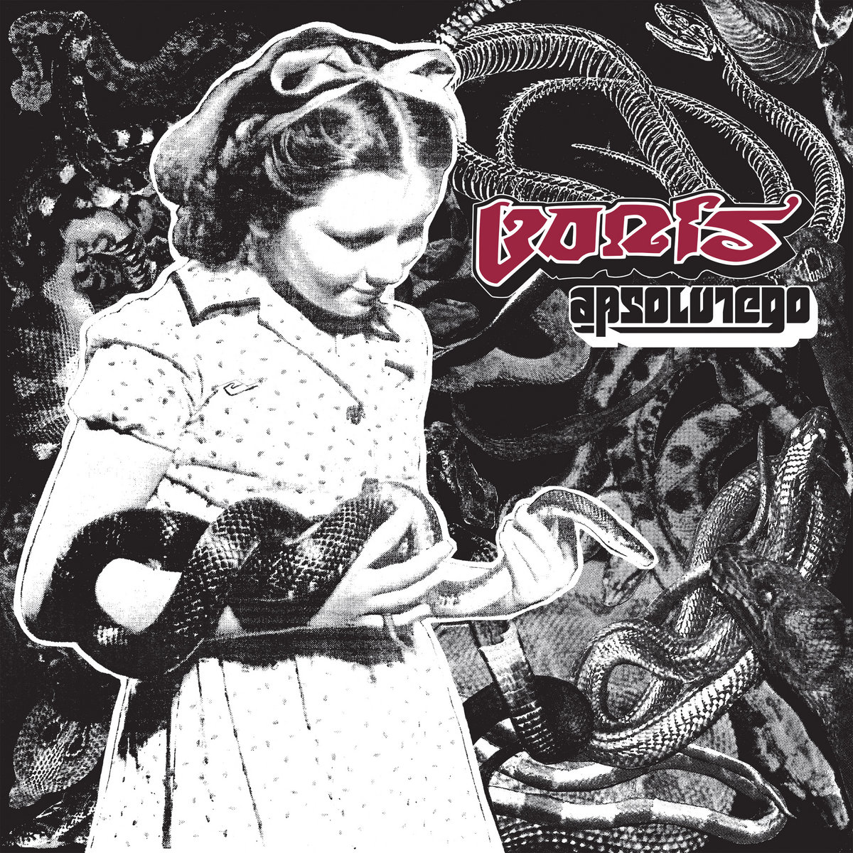 Boris - Absolutego [LTD 2xLP] (Opaque Red Vinyl)