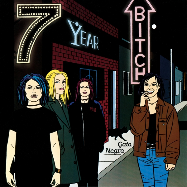 7 Year Bitch - Gato Negro [LTD LP] (Green Vinyl]