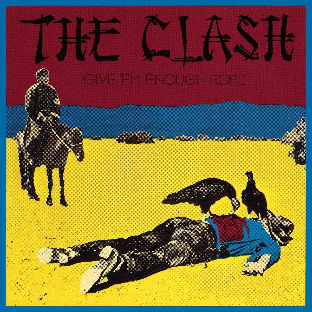 Clash - Give 'EM Enough Rope [LP]