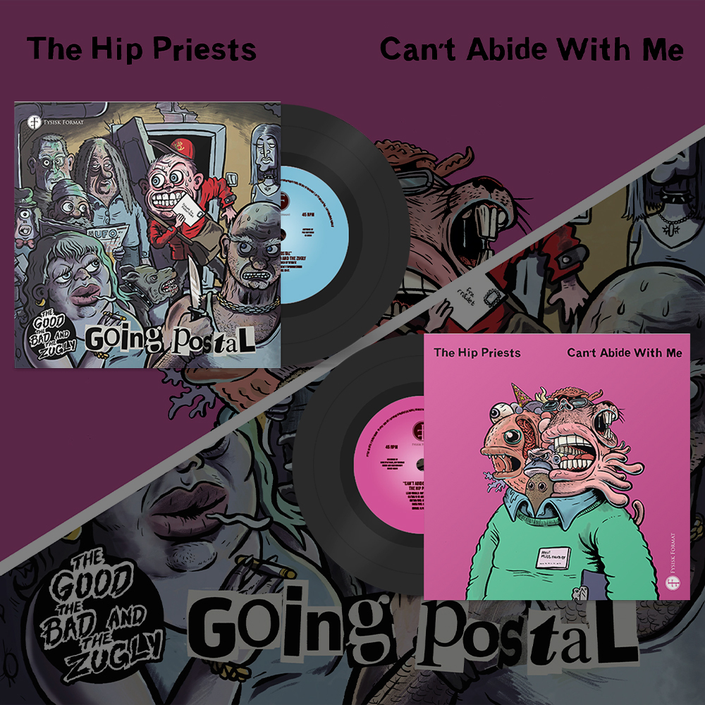 """The Good, The Bad & The Zugly / The Hip Priests - Split [7""""]"""