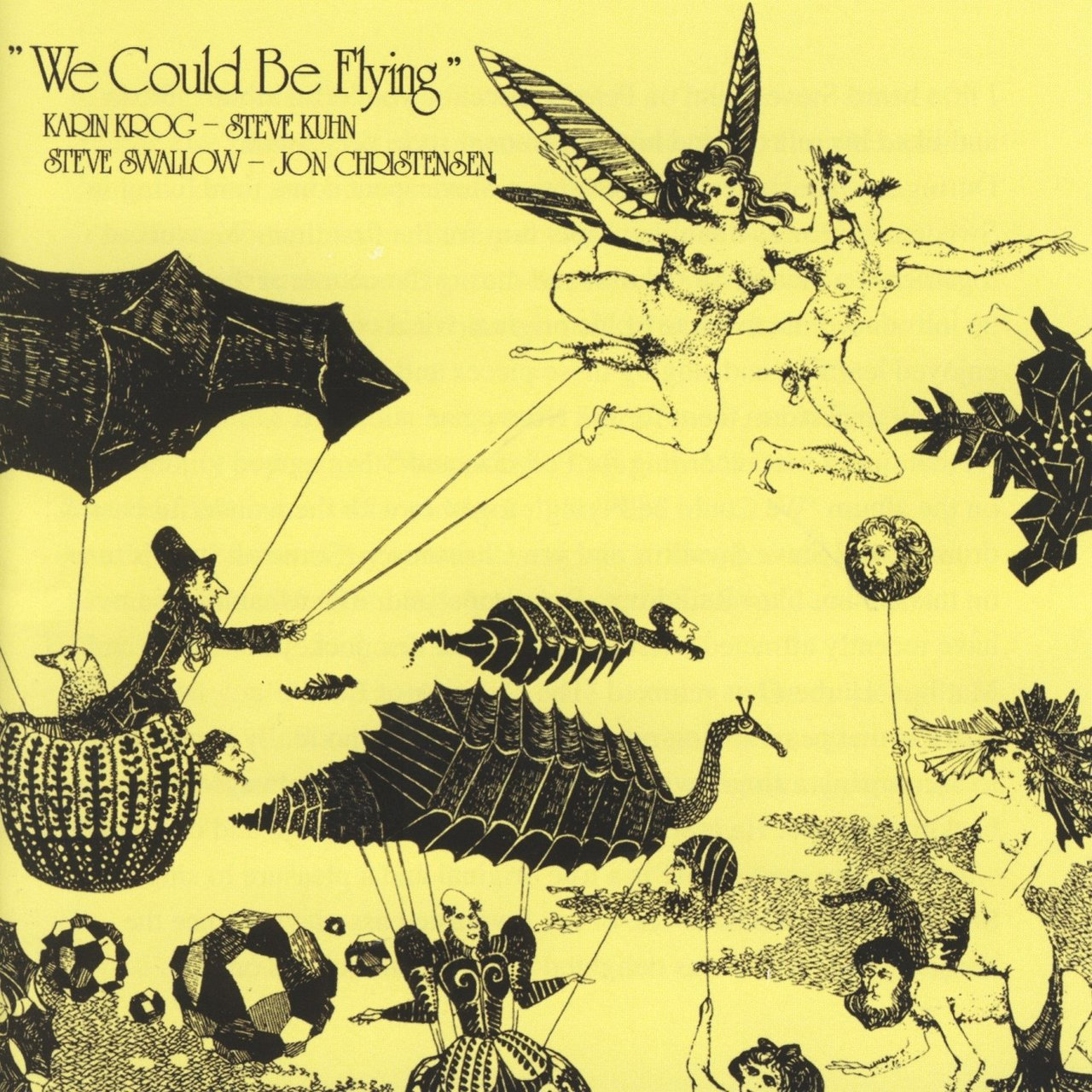 Karin Krog/Kuhn/Swallow/Christensen - We could be flying [LP]