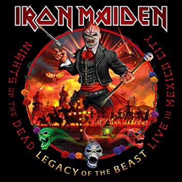 Iron Maiden - Nights of the Dead, Legacy of The Beast [LTD 3xLP]