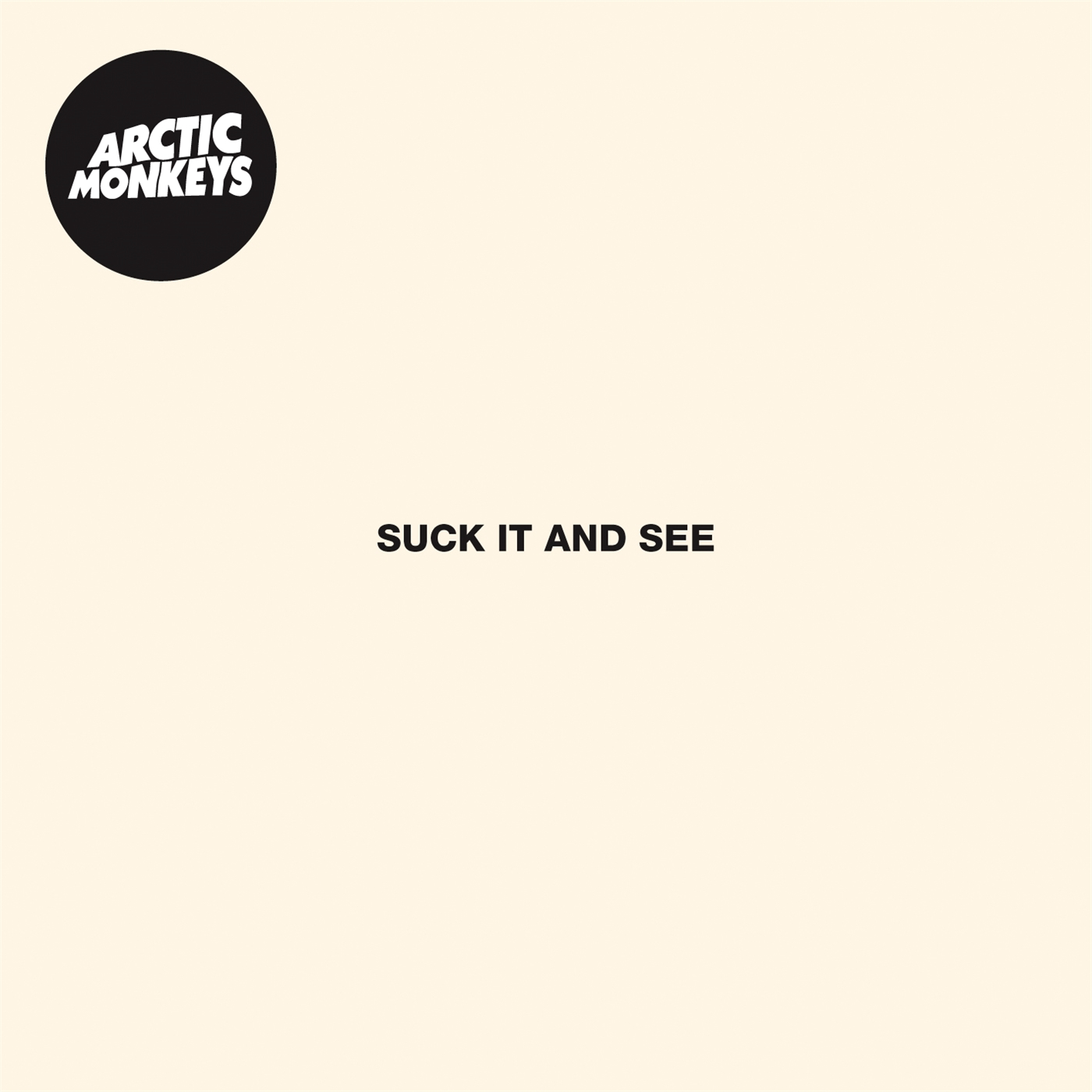 Arctic Monkeys – Suck it and See [LP]