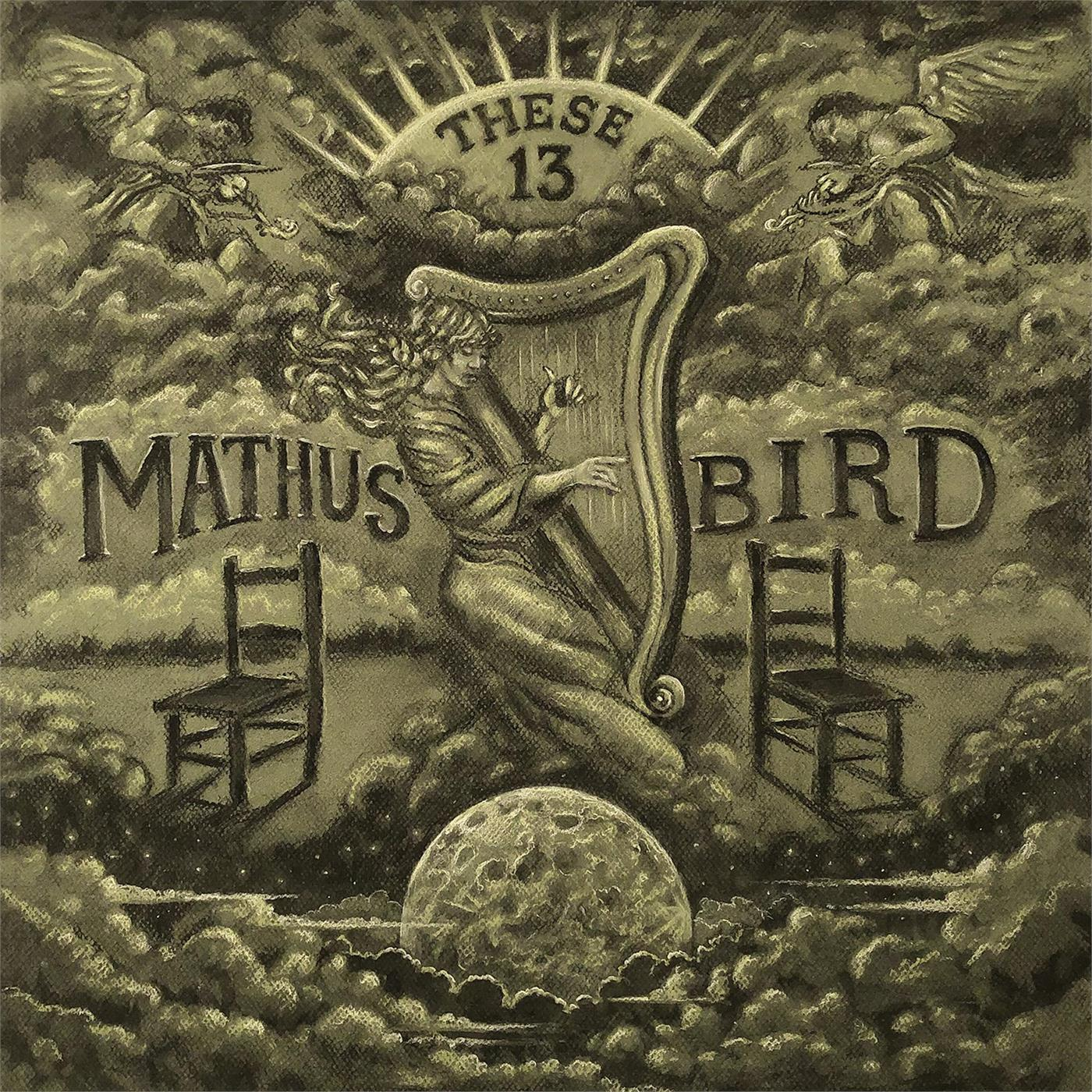 Jimbo Mathus & Andrew Bird - These 13 [LTD LP] (opaque grey marble)