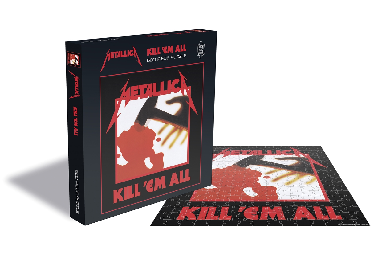 Metallica - Kill Em All [Puslespill] (500 Brikker)