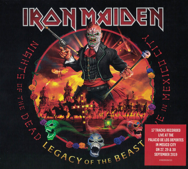Iron Maiden - Nights of the Dead, Legacy of The Beast [3xLP]