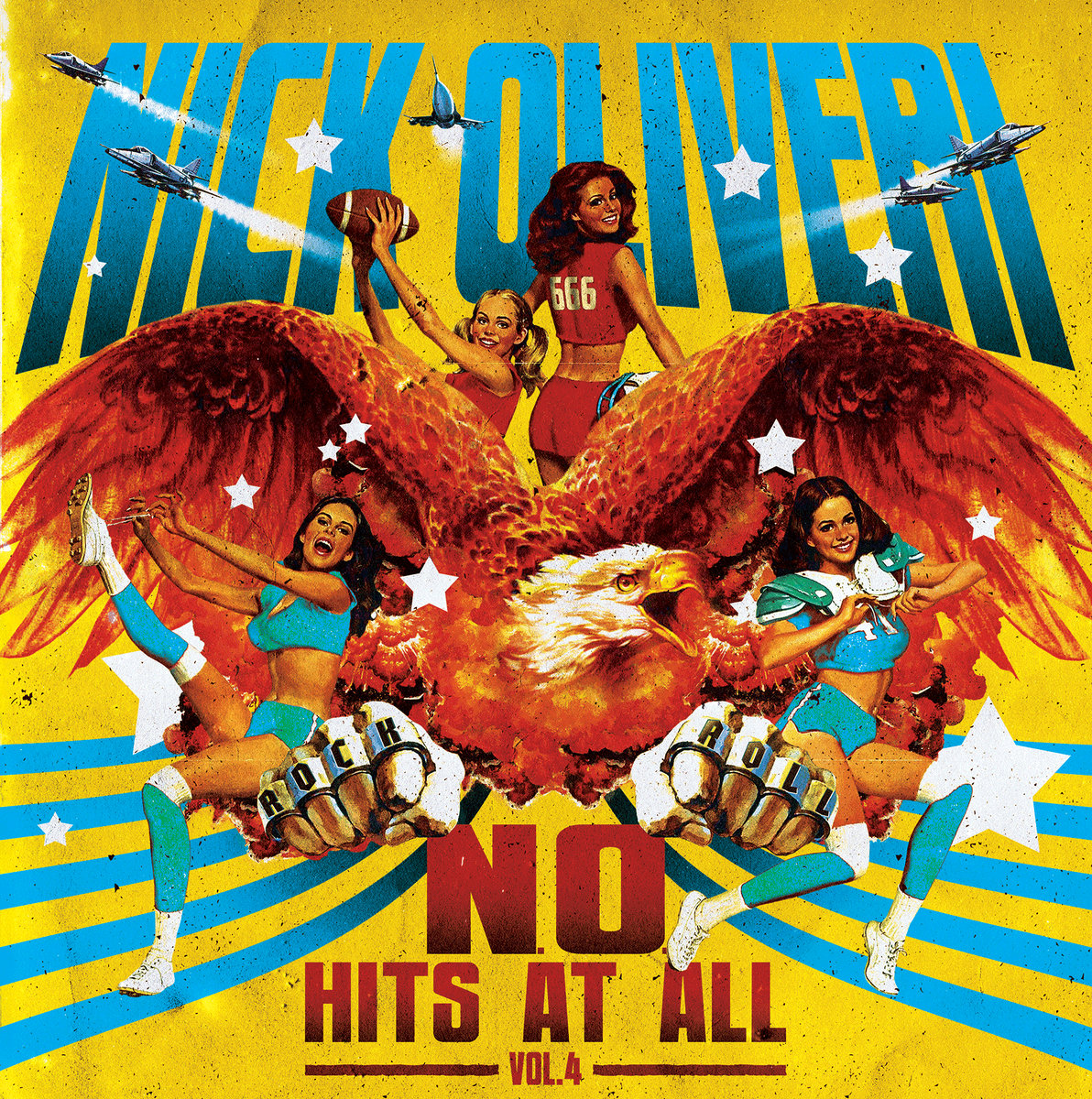 Nick Oliveri - N.O. Hits At All Vol. 4 [LP]