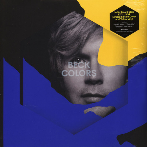 Beck - Colors [LTD LP] (Yellow vinyl)